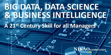 Big Data, Data Science and Business Intelligence tickets