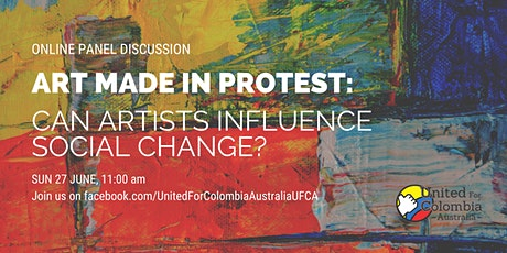 Art made in protest: can artists influence social change? tickets