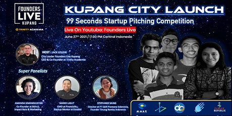 Founders Live KUPANG - INDONESIA (Potensi Startup Digital Indonesia Timur) tickets