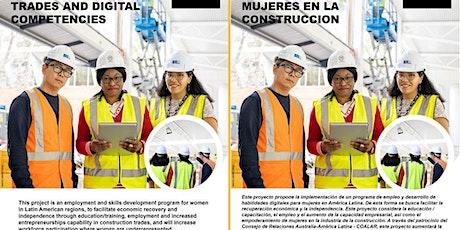 Women in Construction LAUNCH EVENT/Mujeres en la Construcción PRESENTACION entradas