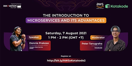 The Introduction to Microservices and Its Advantages tickets