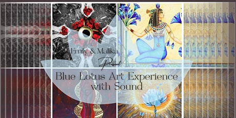 Blue Lotus Art Experience with Sound tickets