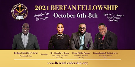 Berean Fellowship Conference 2021 tickets