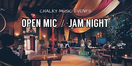 Open Mic Night at The SouthBank Club tickets