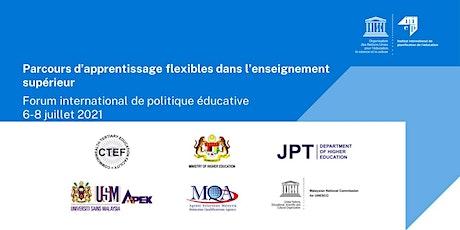 Forum international de politique éducative tickets