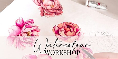 Watercolour Workshop - Mary Maes Brisbane - August 28th tickets