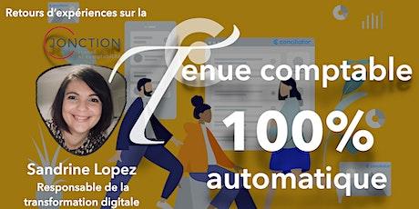 100% de la tenue comptable en automatique : retour  Jonction billets