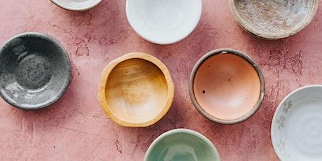 Pinta un set de desayuno de cerámica tickets