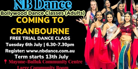 Cranbourne FREE TRIAL Bollywood Dance Class tickets