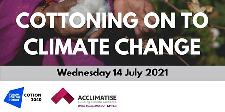 Cottoning on to climate change tickets