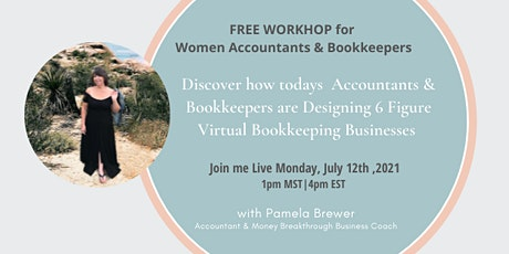 Discover how to Design a 6-figure Bookkeeping Business! tickets