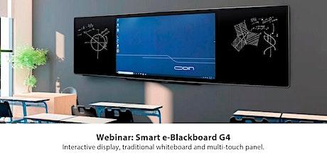 Webinar: Smart e-Blackboard G4 entradas