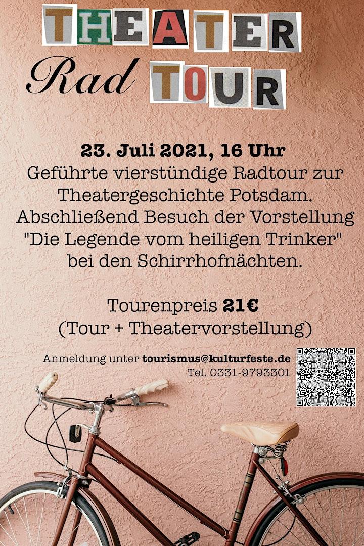 """Geführte Radtour zum Thema """"Theater"""" inklusive Theatervorstellung: Bild"""