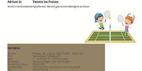 Tennis im Freien Tickets