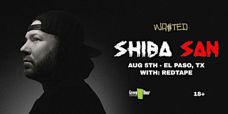 El Paso: Shiba San w/ Redtape  @ Green Door [18 & Over] boletos