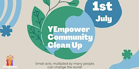 YEmpower Community Clean Up! tickets