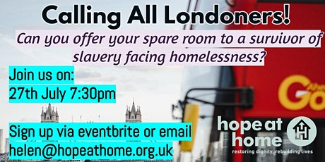 Explore Hosting with Hope at Home tickets