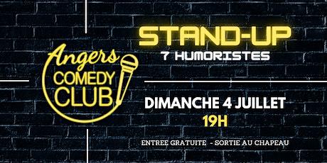 Angers Comedy Club - Dimanche  4 Juillet 2021 / Les Folies Angevines billets