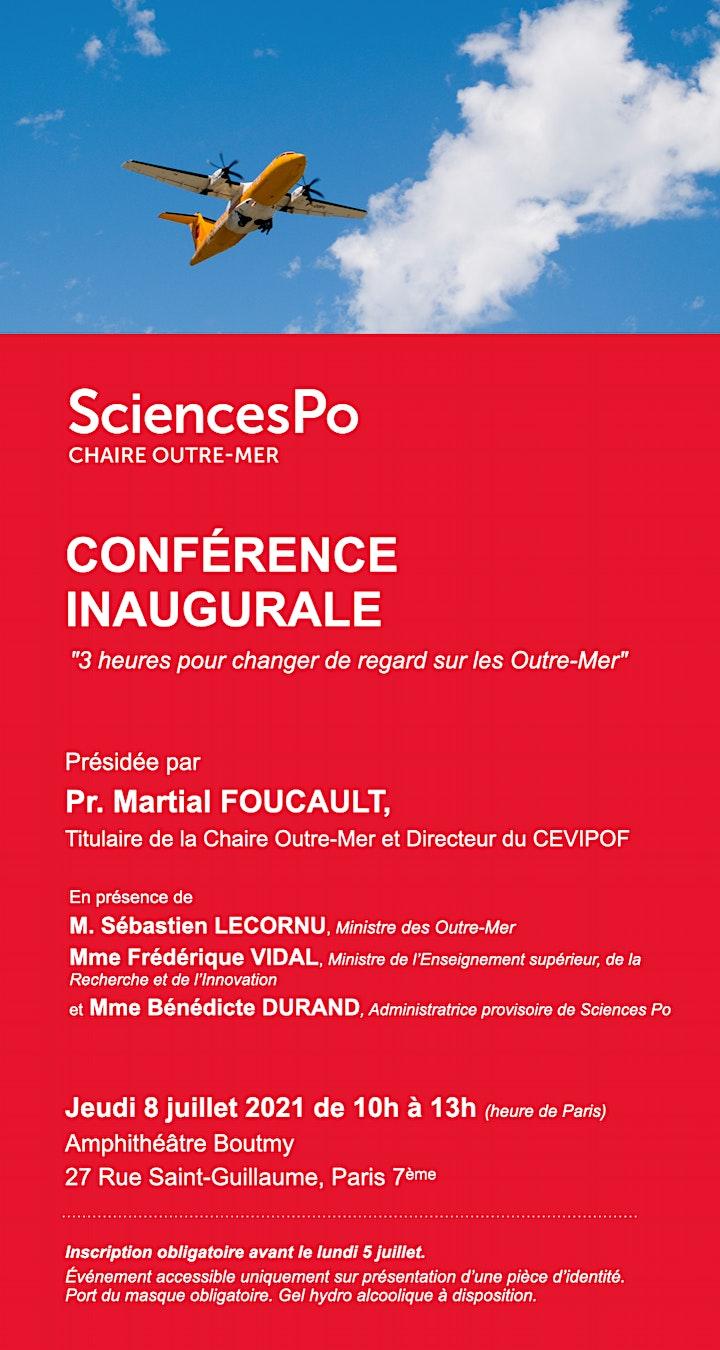 Image pour Conférence inaugurale de la Chaire Outre-Mer de Sciences Po