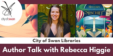 Author Talk with Rebecca Higgie (Guildford) tickets