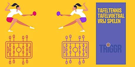 Nieuwkoop on the Move - Tafeltennis en tafelvoetbal - vrij spelen tickets