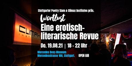 WORTLUST - Eine erotisch-literarische Revue • Open Air Tickets