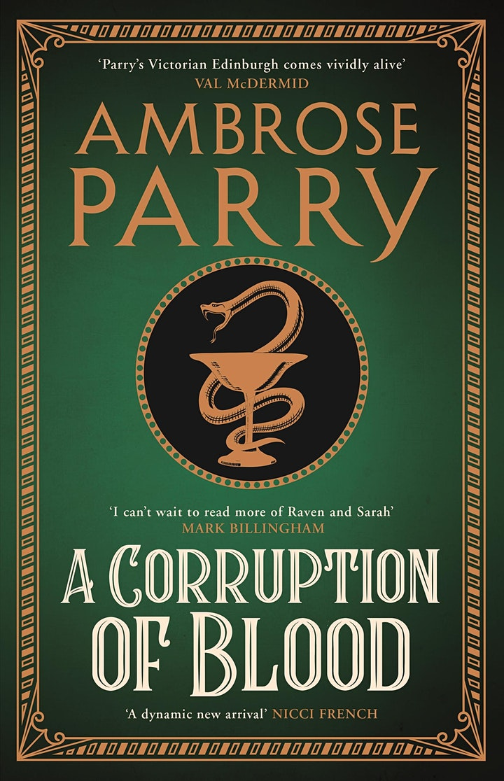 Author event with Ambrose Parry image