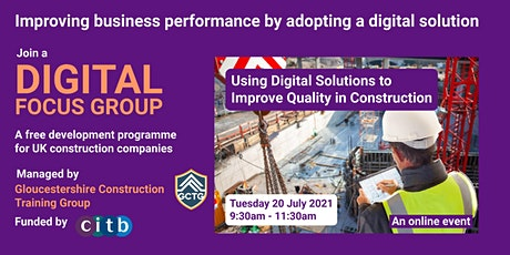 Using Digital Solutions to Improve Quality in Construction tickets