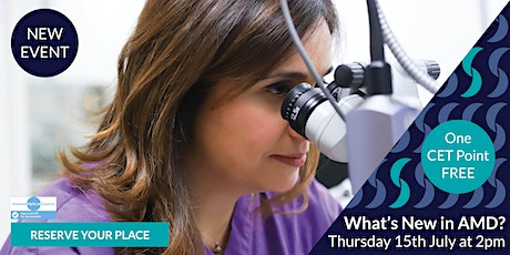 What's NEW & CURRENT in Macular Degeneration? tickets