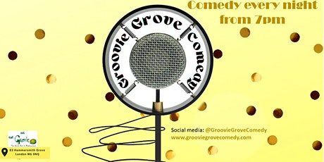 Groovie Grove Comedy - Saturday Show tickets