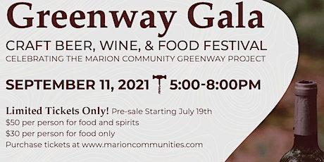 """The Greenway Gala"" tickets"