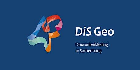 DiS Online 12 oktober: DiS Geo update - bijpraten en aanhaken tickets