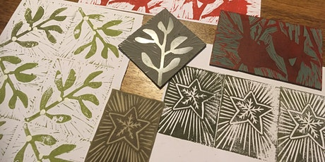 Printmaking Christmas Cards tickets