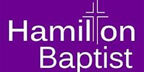 Hamilton Baptist Church Service tickets