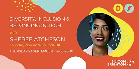 Diversity, Inclusion & Belonging in Tech tickets