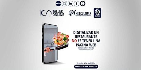 Taller Online Digitalizar un restaurante NO es tener una web 30 Jun entradas