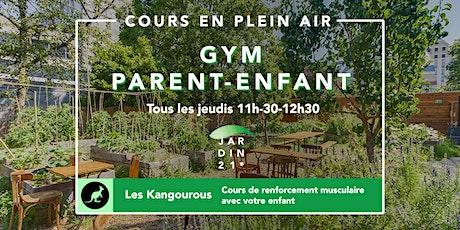 Cours de Gym Parent-Enfant / Les Kangourous tous les mercredis billets