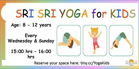 Yoga and Meditation workshop for Children (8-12 years) tickets