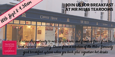 Networking Breakfast at Mr Miles Tearooms tickets