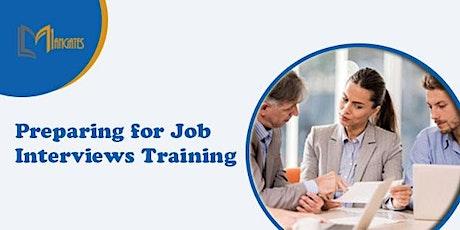 Preparing for Job Interviews 1 Day Virtual Training in Warwick tickets