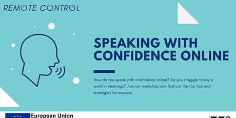 Remote Control: Speaking With Confidence Online tickets