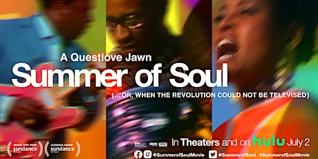 Azubuike Presents An Exclusive Virtual Screening Questlove's SUMMER OF SOUL tickets