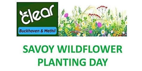Savoy Wildflower Planting Day tickets