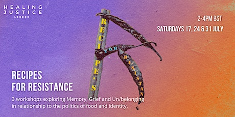 Recipes For Resistance tickets