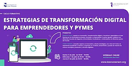Webinar Emprende: Estrategias de transformación digital II entradas