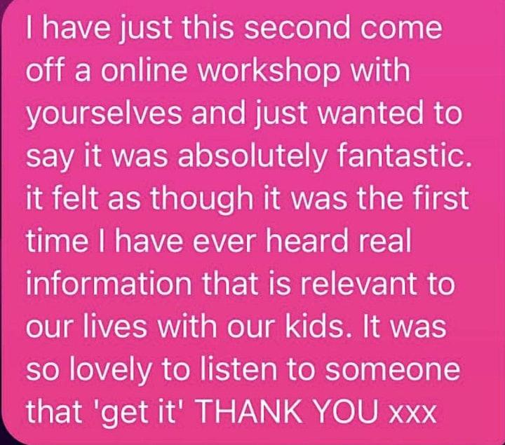 Trauma Informed Parenting Workshop image
