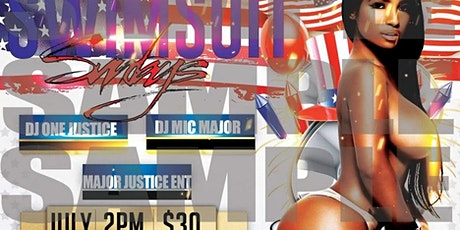 Copy of Swimsuit Sunday's tickets