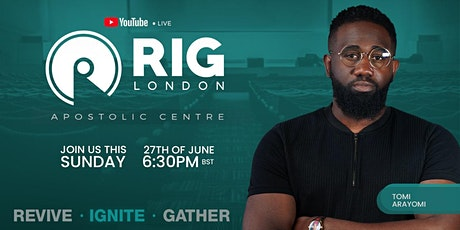 RIG London 27th June tickets