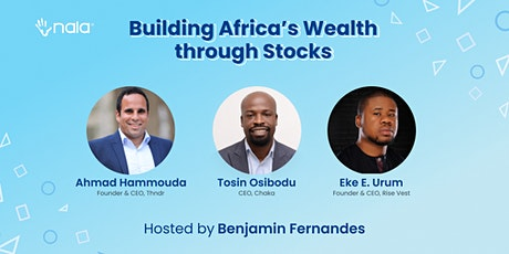 Building Africa's Wealth through Stocks tickets