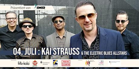 Kai Strauss & The Electric Blues Allstars - Open Air Tickets